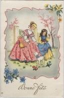 "CPA - ILLUSTRATION - Scène ENFANTINE - Carte ""Bonne Fête"" - Edition Photochrom - Dessins D'enfants"