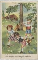 CPA - ILLUSTRATION - Scène ENFANTINE - Edition Photochrom - Dessins D'enfants