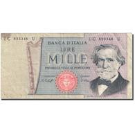 Billet, Italie, 1000 Lire, 1969-1971, 1977-01-10, KM:101e, TB - [ 2] 1946-… : Républic
