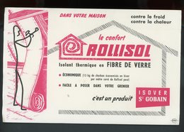 BUVARD:  LE CONFORT ROLLISOL - St GOBAIN - FORMAT  Env. 13,5X21 Cm - Blotters