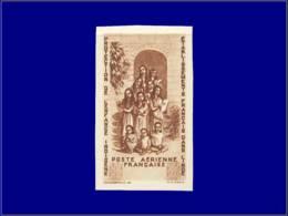 INDE FRANCAISE Poste Aérienne ** - 8 C, Non Dentelé, Sans Valeur Faciale: Oeuvres D'enfance - India (1892-1954)