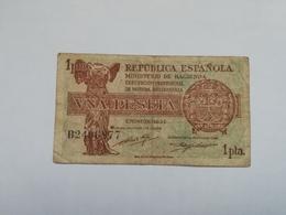 SPAGNA 1 PESETA 1937 - [ 3] 1936-1975 : Régence De Franco