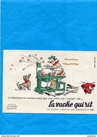 """-BUVARD-""""Fromages  BEL- VACHE QUI RIT """" -Illustrée -le Rémouleur Qui Aiguise L'appétit  -années 40-50 - Blotters"""