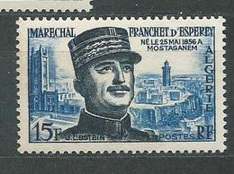 ALGERIE  N°  336  **  TB  2 - Algérie (1924-1962)