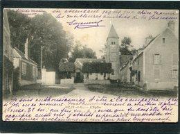 CPA - GIF - L'Eglise Et La Place - Gif Sur Yvette