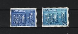 1938 - Compréhension Des Balkans Mi No 547/548  MNH - 1918-1948 Ferdinand, Carol II. & Mihai I.