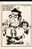 LOT061......20 CPSM ILLUSTRATIONS POLITIQUES  ...J LARDIE - Cartes Postales