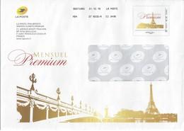 ENVELOPPE CATALOGUE PHILAPOSTE - Mensuel Premium Décembre 2018 - Monde 250g - Entiers Postaux