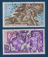 "Monaco YT 1387 & 1388 "" Croix-Rouge, Hercule "" 1983 1er Jour - Monaco"