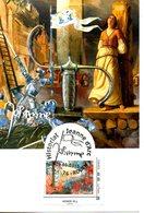 FRANCE. Historial Jeanne D'Arc - Rouen 2015. 1 Timbre Sur Carte Maximum. - France