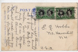Canada Toronto Save Time Use Air Mail 1939 - 1937-1952 Reign Of George VI