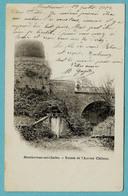 CPA 88 MONTHUREUX  SUR SAONE 1902 - Monthureux Sur Saone