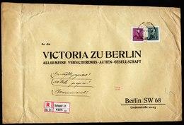 A5864) Ungarn R-Geschäftspapiere V. Budapest 1937 N. Berlin - Ungarn