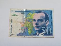 FRANCIA 50 FRANCS 1992 - 1992-2000 Dernière Gamme