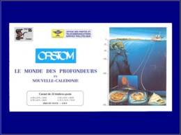 NOUVELLE-CALEDONIE Carnets ** - 9, Carnet 1530f: Faune Sous-marine - Cote: 60 - New Caledonia