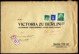 A5865) Ungarn Schwerer R-Brief V. Budapest 01.06.37 N. Berlin - Ungarn
