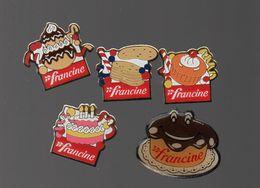 Pin's FRANCINE.FARINE FRANCINE.PATISSERIE....BT9 - Food