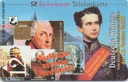 Télécarte Allemande : Deutsche Könige - Timbres & Monnaies