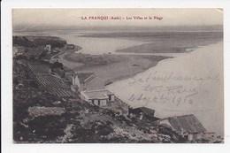 CPA 11 LA FRANQUI Les Villas Et La Plage - Other Municipalities