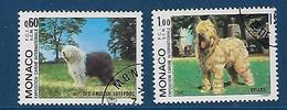 "Monaco YT 1329 & 1330 "" Exposition Canine "" 1982 1er Jour - Monaco"