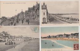 19 / 2 / 241. -  LOT  DE  10  CPA    10  C. P. S. M   DE  LA  BAULE ( 44)  -Toutes Scanées - Cartes Postales