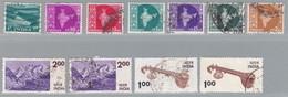 Indien, MiNr. 241, 259, 266, 272, 287, 292, 294, 638 (2x), 639 (2x), Gestempelt; A-2498 - Irak