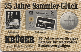 Télécarte Allemande : Krüger - Timbres & Monnaies