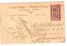 PR6334/ Entier CP 42 Est Africain Allemand Village Watuzi  C.Kigoma 1918 V.France - Entiers Postaux