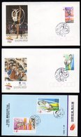 South Korea Olympics 1992 Barcelona 2 Fdc,s And With Folder. - Summer 1992: Barcelona