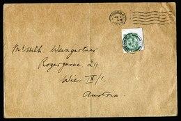 A5868) UK Brief London 02.01.24 Mit Ganzsachenausschnitt !! Nach Wien - 1902-1951 (Könige)