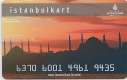 Carte De Transport Istanbul - Autres Collections