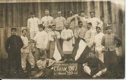 Annexe De Remonte De Lastours (Aude) - Classe 1907 - Personnages