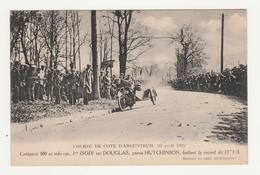 Course De Cote D'Argenteuil (10 Avril 1921).Catégorie 500 Cc Side Car,1er ISODI Sur Douglas,pneus Hutchinson.Automobile. - Autres