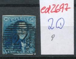 Belgien Nr. 2 O-Farbe/Stempel....?   (ed2697  ) Siehe Scan - 1849 Epaulettes