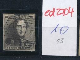 Belgien Nr. 1    O-Farbe/Stempel....?   (ed2704  ) Siehe Scan - 1849 Epaulettes