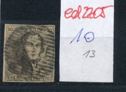 Belgien Nr. 1    O-Farbe/Stempel....?   (ed2705  ) Siehe Scan - 1849 Epaulettes