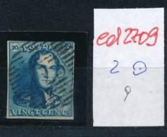 Belgien Nr. 2    O-Farbe/Stempel....?   (ed2709  ) Siehe Scan - 1849 Epaulettes