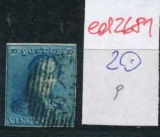 Belgien Nr. 2 O Stempel /Type....?   (ed2681  ) Siehe Scan - 1849 Epaulettes
