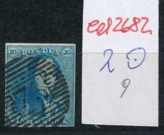 Belgien Nr. 2 O Stempel /Type....?   (ed2682  ) Siehe Scan - 1849 Epaulettes