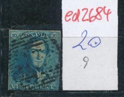 Belgien Nr. 2 O Stempel /Type....?   (ed2684  ) Siehe Scan - 1849 Epaulettes