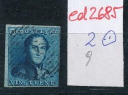Belgien Nr. 2 O Stempel /Type....?   (ed2685  ) Siehe Scan - 1849 Epaulettes