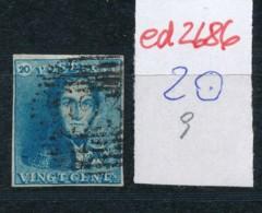 Belgien Nr. 2 O Stempel /Type....?   (ed2686  ) Siehe Scan - 1849 Epaulettes