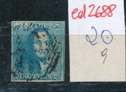 Belgien Nr. 2 O Stempel /Type....?   (ed2688  ) Siehe Scan - 1849 Epaulettes