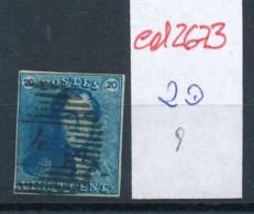 Belgien Nr. 2 O Stempel /Type....?   (ed2673  ) Siehe Scan - 1849 Epaulettes