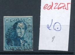 Belgien Nr. 2 O Stempel /Type....?   (ed2675  ) Siehe Scan - 1849 Epaulettes