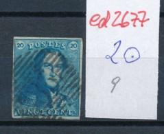 Belgien Nr. 2 O Stempel /Type....?   (ed2677  ) Siehe Scan - 1849 Epaulettes