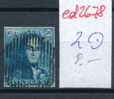 Belgien Nr. 2 O Stempel /Type....?   (ed2678  ) Siehe Scan - 1849 Epaulettes