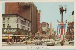 CPSM:   BUFFALO, NEW YORK  (etats-unis):  View Of Main Street In Downtown Buffalo.    (E1434) - Buffalo