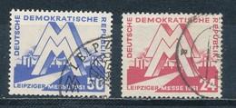 DDR 282/83 Gestempelt - DDR