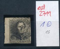 Belgien Nr. 1   O Stempel /Type....?   (ed2711  ) Siehe Scan - 1849 Epaulettes